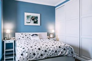 现代简约风格卧室衣柜设计装修效果图