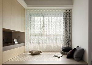 现代简约风格两居室榻榻米床装修效果图