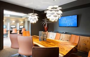 现代风格会议室装修效果图赏析
