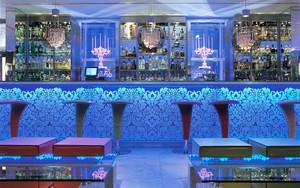时尚混搭风格酒吧吧台设计装修效果图