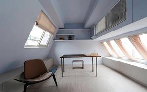 130平米现代风格小复式楼装修效果图案例