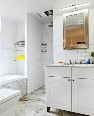 116平米现代工业风格三室两厅室内装修效果图赏析