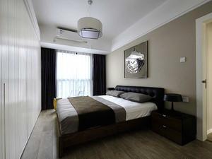 73平米现代简约风格两室一厅装修效果图