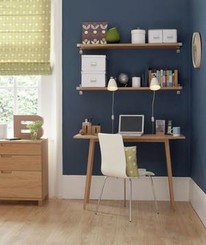 简约风格精美小书房设计装修效果图大全
