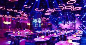 136平米现代风格精致音乐酒吧设计装修效果图