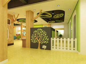 现代简约风格幼儿园环境布置装修效果图