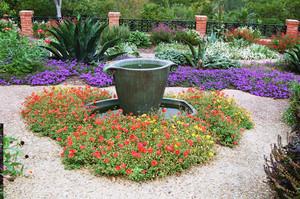 精致别墅花园设计装修效果图