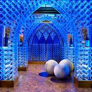 现代风格别墅室内精美酒柜设计装修效果图