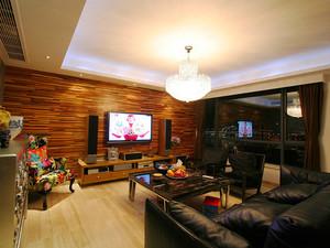 118平米美式风格三室两厅两卫室内装修效果图案例