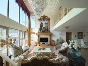 330平米欧式风格精美别墅室内装修效果图赏析