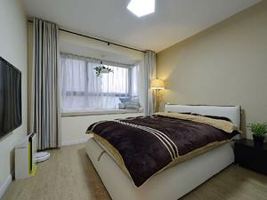 80平米清新美式风格室内装修效果图案例