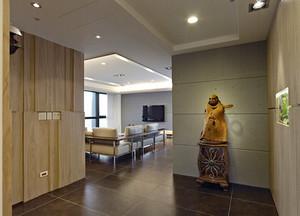 90平米日式风格简约自然室内装修效果图赏析
