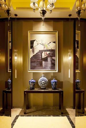 146平米新古典主义风格三室两厅室内装修效果图