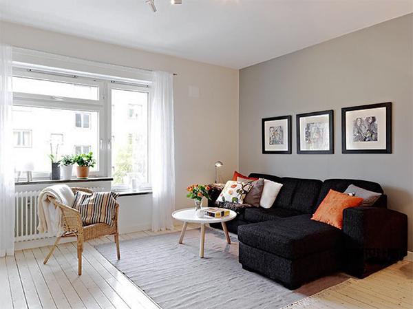 60平米北欧风格一居室小户型装修效果图赏析
