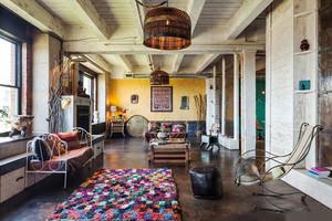 320平米复古工业风格别墅室内装修效果图赏析