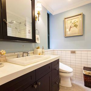 144平米简约美式风格复式楼室内装修效果图赏析