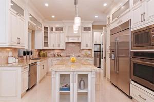 欧式风格别墅室内精美整体厨房装修效果图