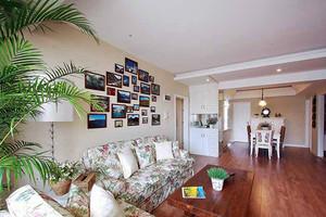 80平米田园风格简约室内装修效果图赏析