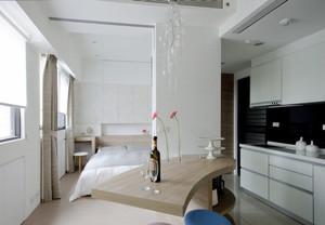 现代简约风格卧室吧台设计装修效果图赏析