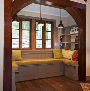 新古典主义风格别墅室内精美飘窗设计效果图