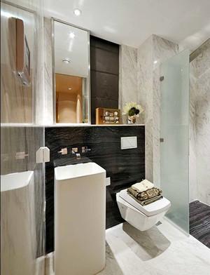 120平米新中式风格精装室内装修效果图案例