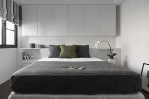 73平米北欧风格简约时尚两室一厅装修效果图