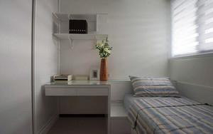 73平米都市简约风格两室一厅装修效果图赏析