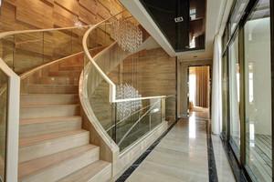 现代风格别墅室内精致楼梯装修效果图