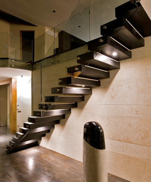 后现代风格精致室内创意楼梯装修效果图赏析