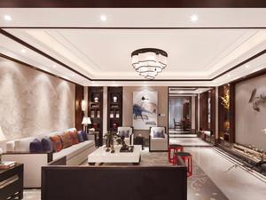 150平米中式风格精装大户型室内装修效果图赏析