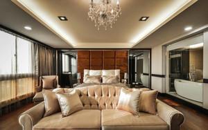 欧式风格别墅室内精美主卧室装修效果图赏析