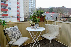 北欧风格纯白简约一居室小户型装修效果图