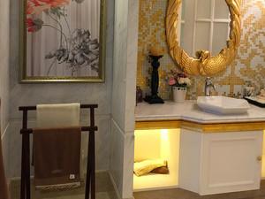 150平米古典欧式风格低调典雅大户型室内装修效果图