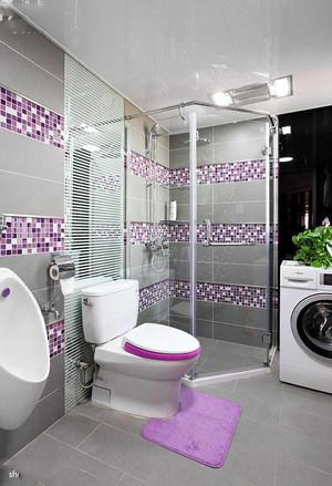 创意混搭风格两室两厅两卫设计装修效果图案例