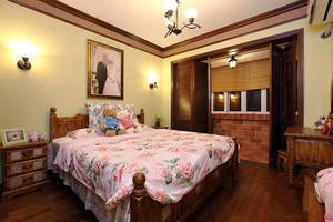 99平米欧式田园风格两室两厅一卫装修效果图赏析