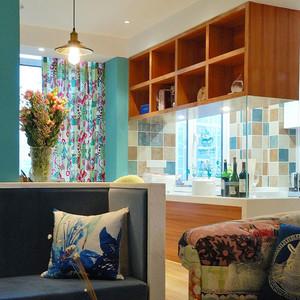 90平米清新美式风格室内装修效果图案例