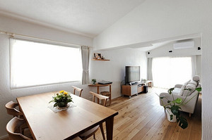 100平米日式风格简约随性简装室内装修效果图