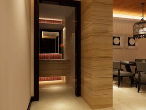 90平米新中式风格精装室内装修效果图赏析