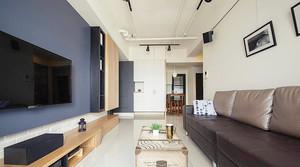 70平米宜家风格简约温馨两室一厅装修效果图案例