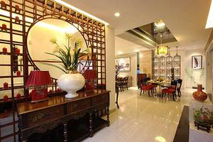 400平米中式风格奢华别墅室内装修效果图案例