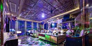 90平米欧式风格超豪华KTV包房设计装修效果图