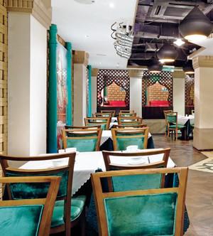 复古混搭风格中餐厅设计装修效果图赏析