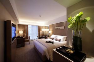66平米现代风格宾馆客房装修效果图赏析