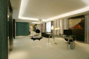 120平米后现代风格精装室内装修效果图赏析