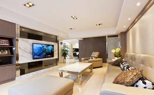 118平米简欧风格三室两厅室内装修效果图赏析