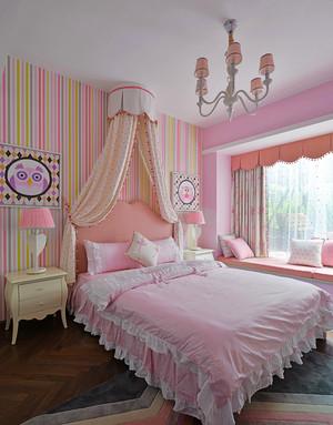 欧式风格浪漫粉色儿童房装修效果图赏析