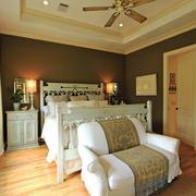 欧式风格大户型室内主卧室装修效果图赏析