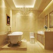 欧式风格大户型精致卫生间装修效果图赏析