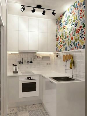 现代风格小户型厨房装修效果图赏析