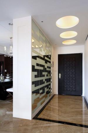 现代风格大户型室内玄关隔断设计装修效果图赏析